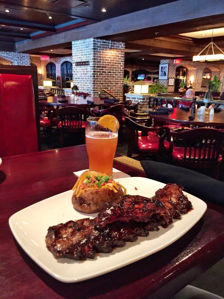 Foto do almoço no Baton Rouge - @dicadeturista