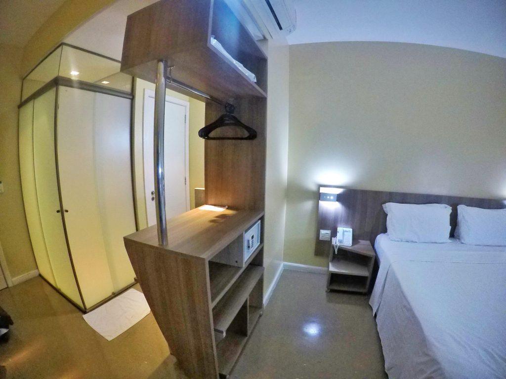 Foto do quarto do Slaviero Cuiabá -@dicadeturista