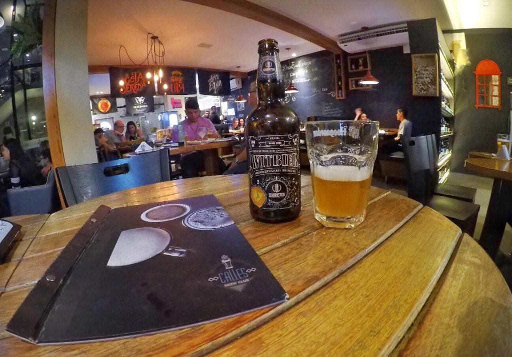 Cerveja no Calles Bar de Tapas