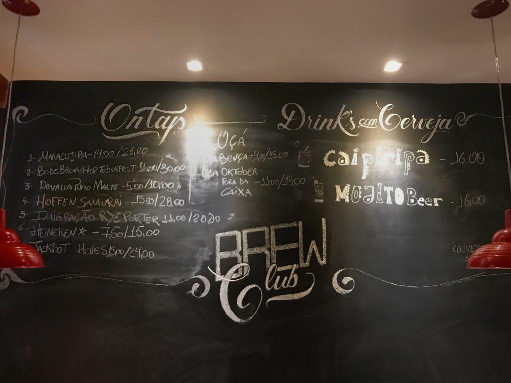 Foto das bebidas mais pedidas do Calles bar de tapas Aracaju