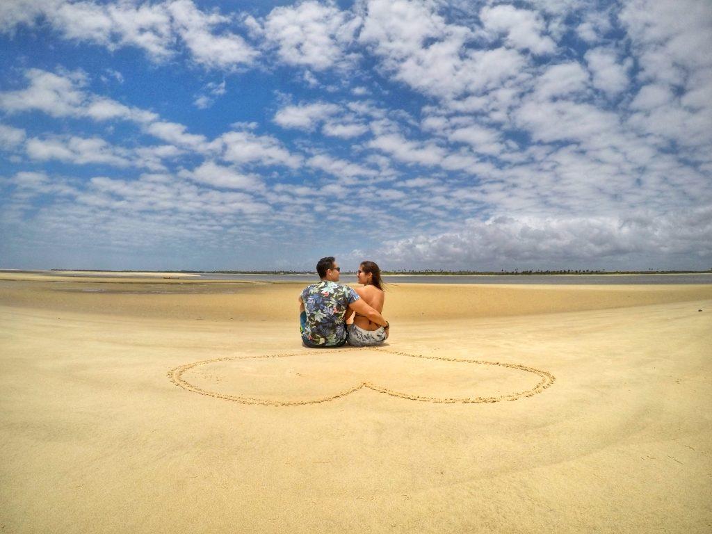 No clima da Ilha dos Namorados rs