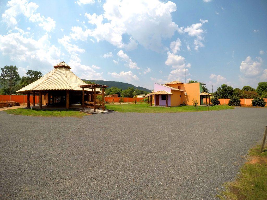 Foto da área comum da pousada Jardim do Cerrado