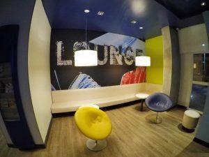 Lounge no Ibis Budget Aracaju