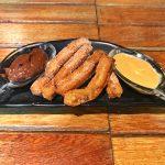 Onde comer em Aracaju - Foto dos mini-churros do Calles bar de tapas